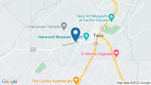 Inn on La Loma Plaza Map