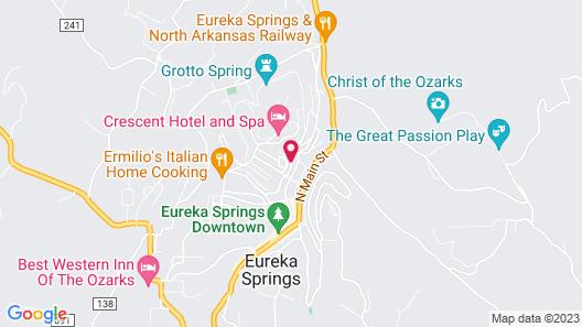 Eureka Zen Cottages Map