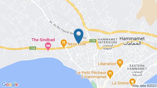 Residence La Paix Map