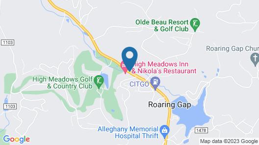 High Meadows Inn Map