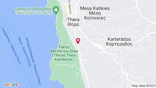 El Greco Resort Map