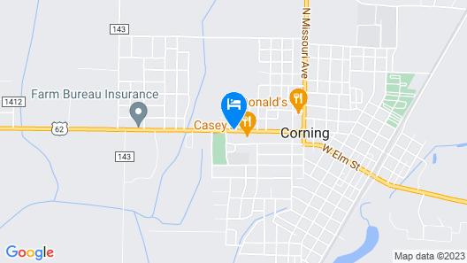Parkview Motel Map
