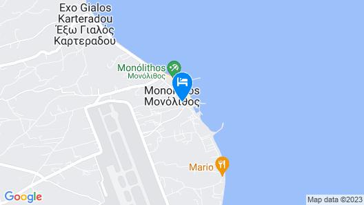 Memories Beach Hotel Map