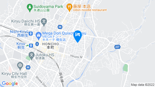 TEMPLE HOTEL KANNONIN Map