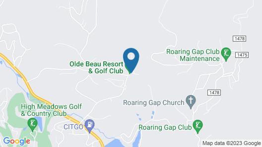 Olde Beau Resort & Golf Club Map
