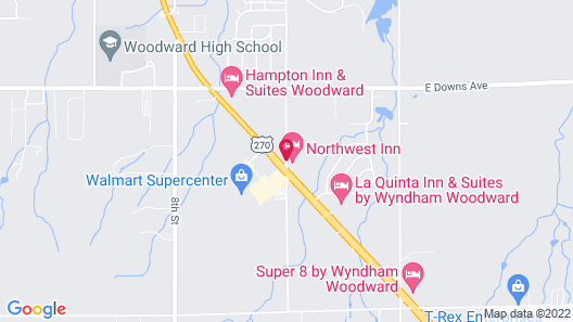 Northwest Inn Map