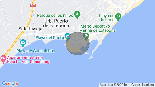 Belgravia Club Lovely 2 Bedroom Apartment In Estepona Marina - Stunning Location Map