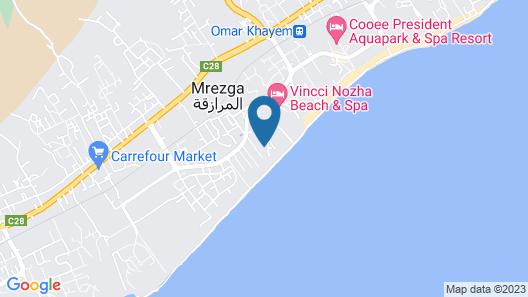 El Mouradi Beach Map