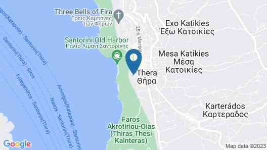 Trieris Villa & Suites Map