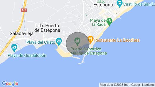 Appartement Palmeras Puerto Paraiso Estepona Map