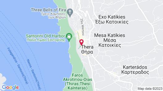 Asteras Villas Map