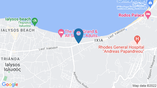 Matthea's Home 150m From Ixia Beach Map