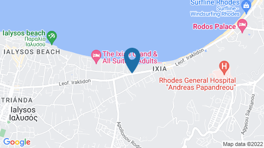 Avra Beach Resort Hotel & Bungalows - All Inclusive Map