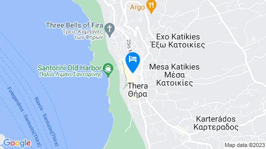 Villa Renos Map