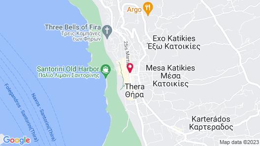 Kavalari Hotel Map