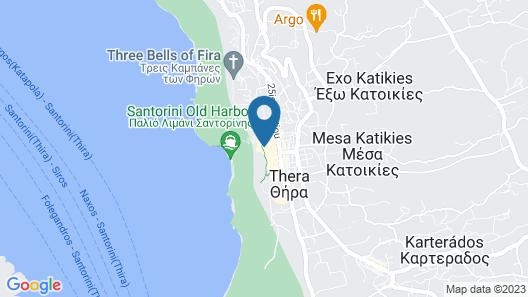 Tzekos Villas Map