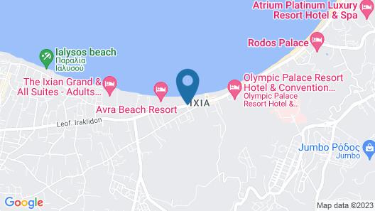 Villa Di Mare Seaside Suites Map