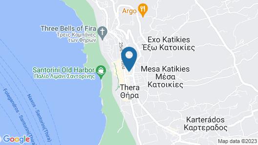 Villa Toula Map