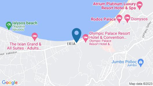 Filmar Hotel Map