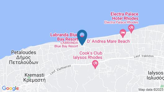 Labranda Blue Bay Resort - All Inclusive Map
