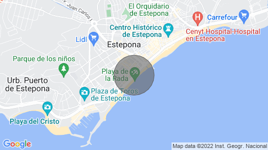 3 Bedroom Accommodation in Estepona Map