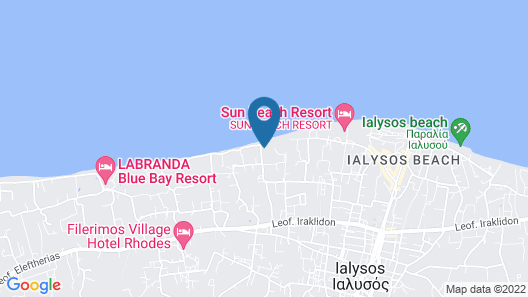 Electra Palace Rhodes - Premium All Inclusive Map