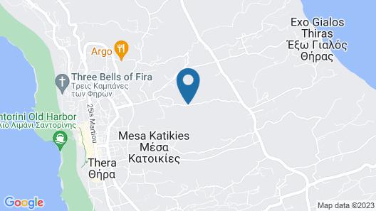 Ayama Hideway Villa Map