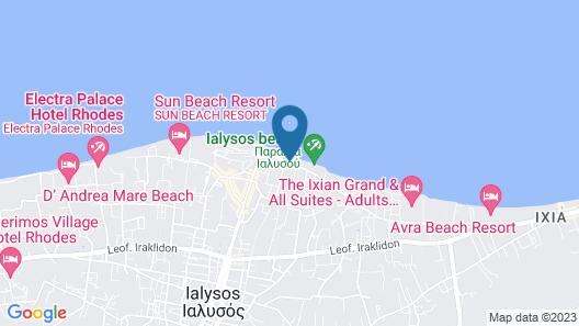 Sea Melody Beach Hotel & Apartments Map
