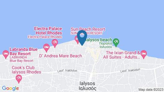 Dodeca Sea Resort Map
