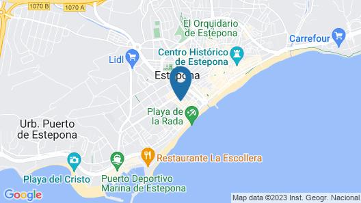 Miguel Ángel Apartments Map