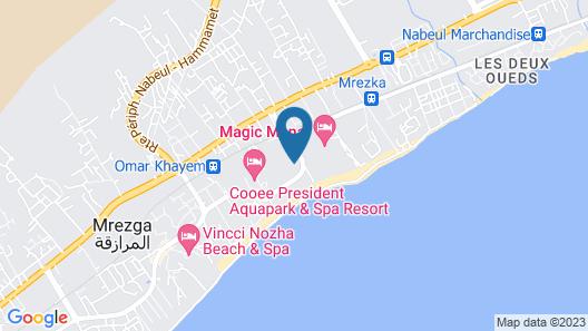 Yadis Hammamet Club Map