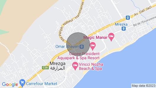 Appartement côté mer Map