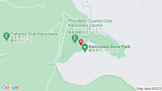 President Resort Hotel Karuizawa Map