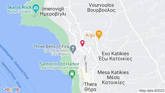 Ersi Villas Map