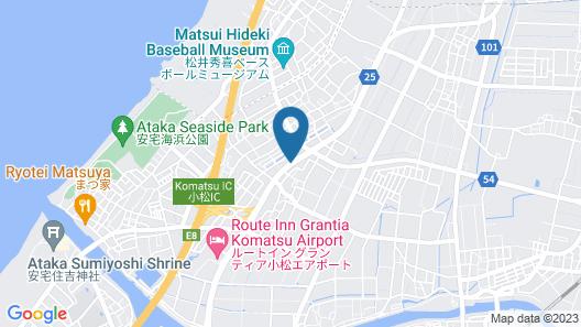 Hotel Econo Komatsu Map