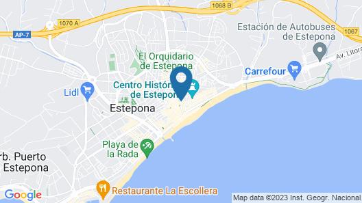 Royal Suites Estepona Map