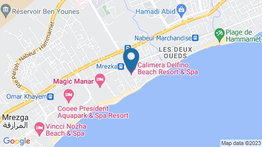 SunConnect Delfino Beach Resort & Spa Map