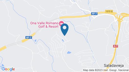 Ona Valle Romano Golf & Resort Map