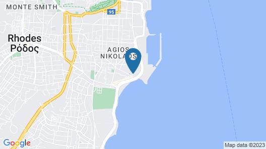 Island Resorts Marisol Hotel Map