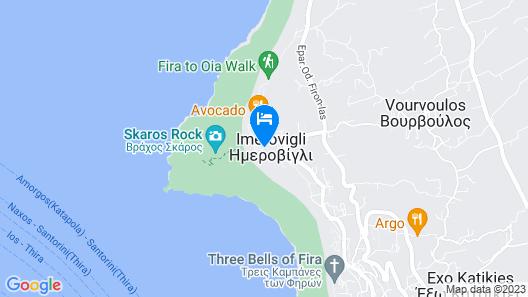 Hotel Sunny Villas Map