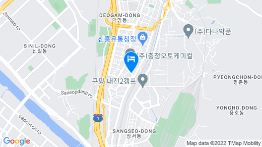 SINTANJIN HOTEL BOX DAEJEON Map