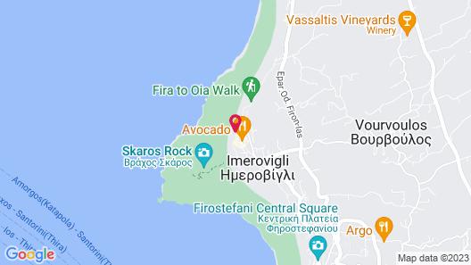 Andromeda Villas Map