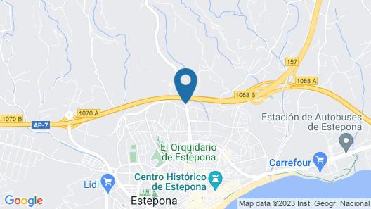 ESTEPONA HOLIDAY HILLS Map