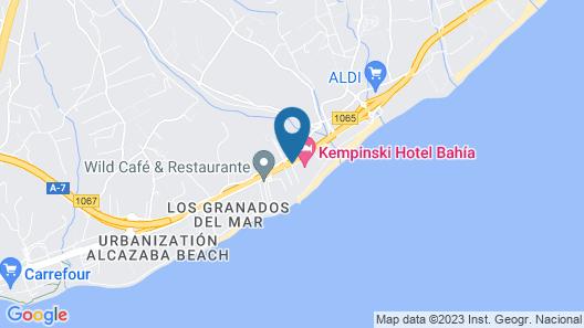 Kempinski Hotel Bahía Map