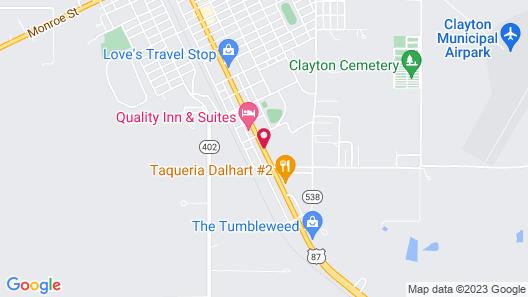 Super 8 by Wyndham Clayton Map