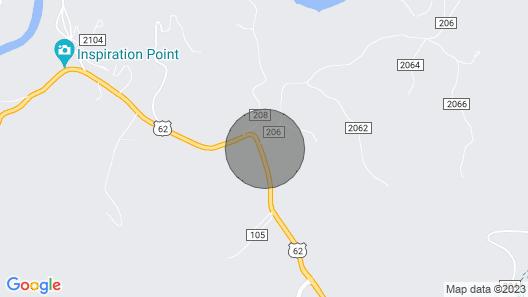 Chalet at Bear Mountain Log Cabins Map