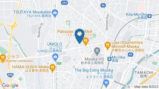 HOTEL R9 The Yard MOKA KUMAKURA Map