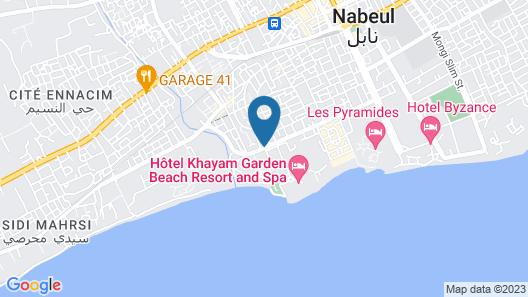 Hotel Gaia Map
