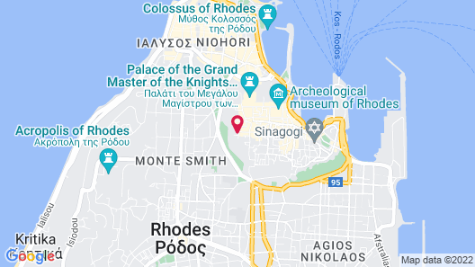 Zacosta Villa Hotel Map