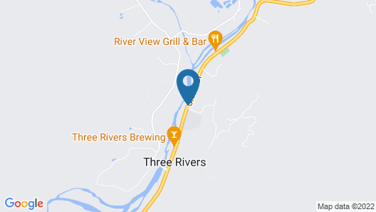 Rio Sierra Riverhouse Map